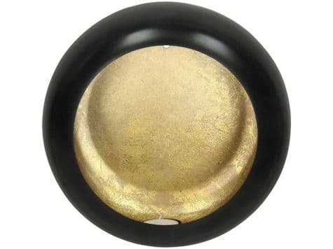 golden candle wall light | round tealight wall sconce | Libra Alex